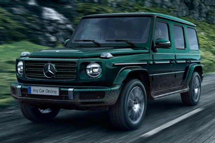 Mercedes G-Class Leasing